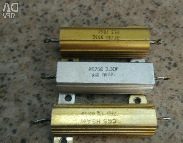 Resistor 7.5 Ohm r 30w 30w