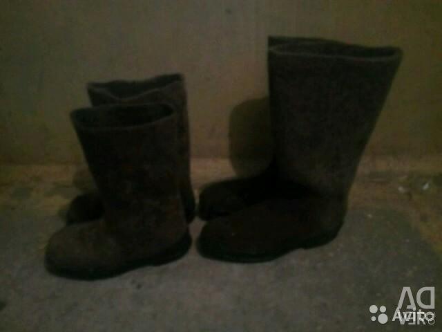 Πώληση μπότες από πίλημα