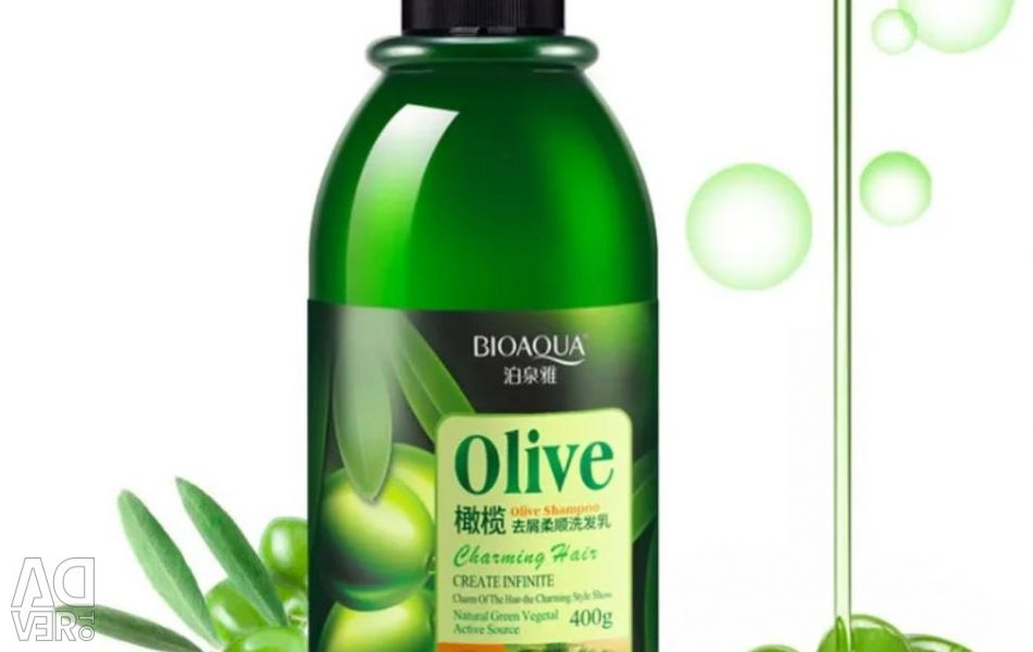 Hair shampoo with olive