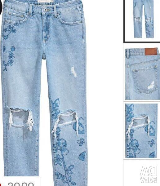New jeans H & M p38 (44-46)