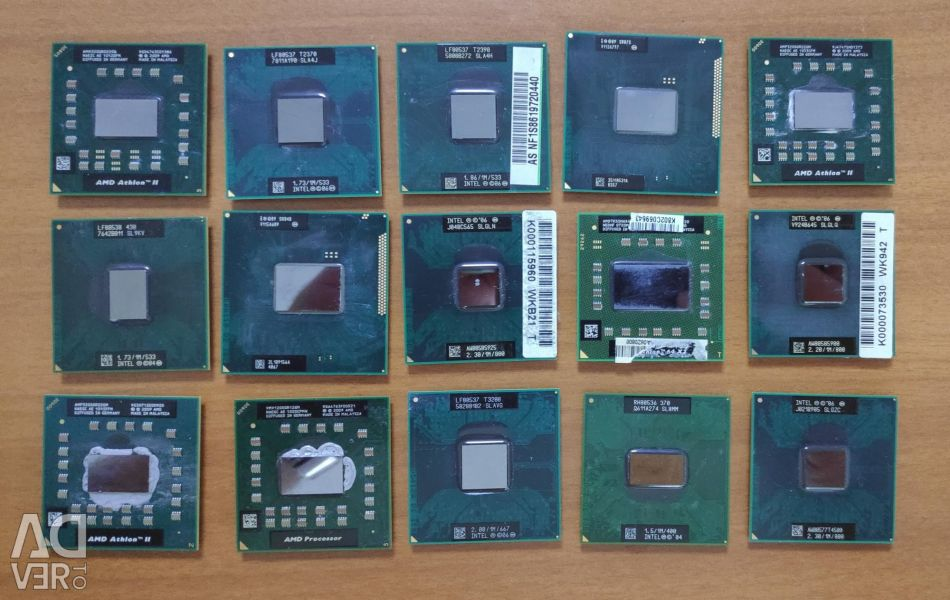 Notebook processors