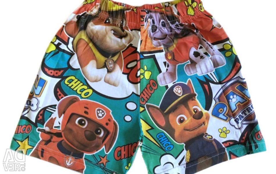 Pantaloni scurți pentru pat