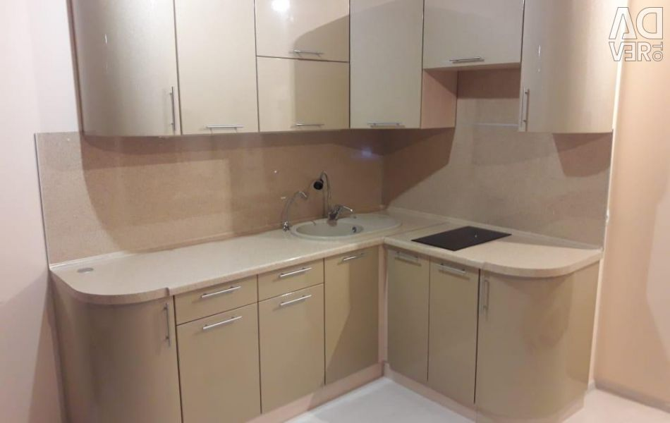 Modular kitchen 2,1 * 1,5 (Gloss) in Nakhodka