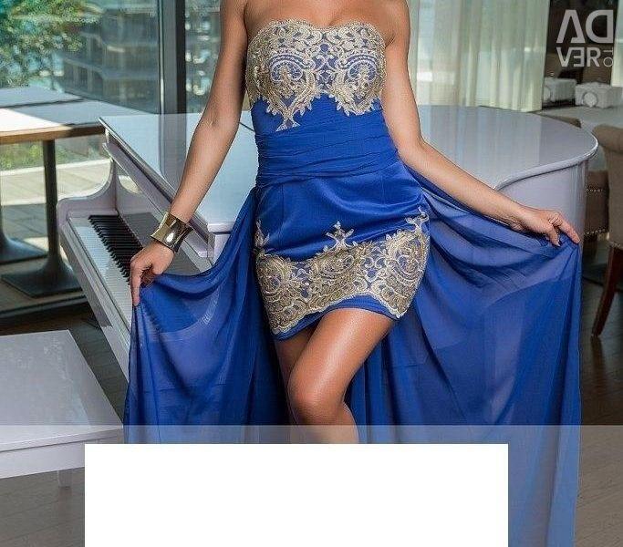 2in1 evening dress