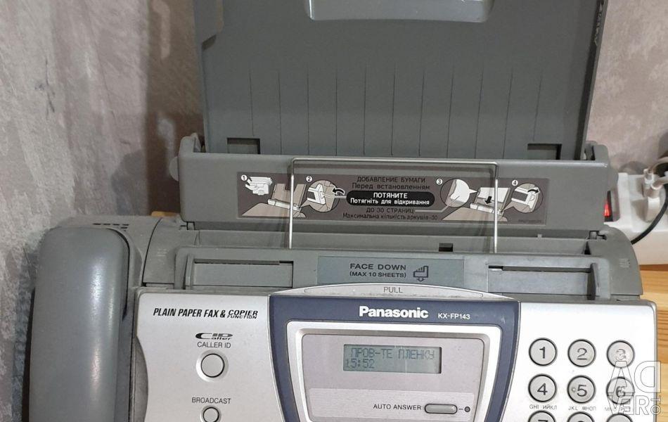 Fax phone.