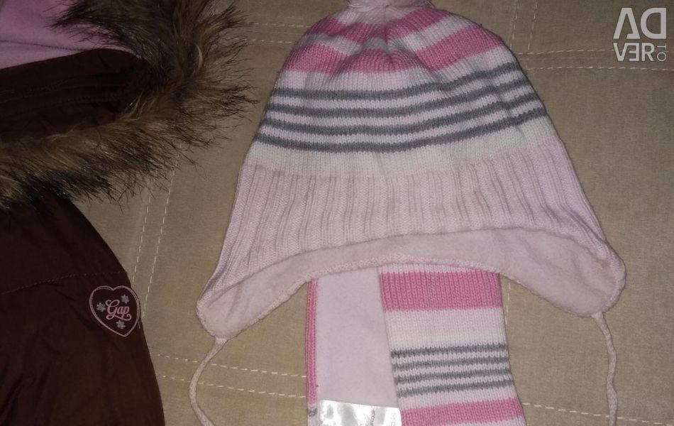 2-4 yıl şapka ve atkı H & M'yi ayarlayın