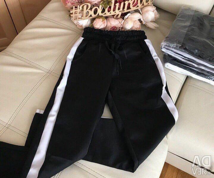 Παντελόνια με ρίγες