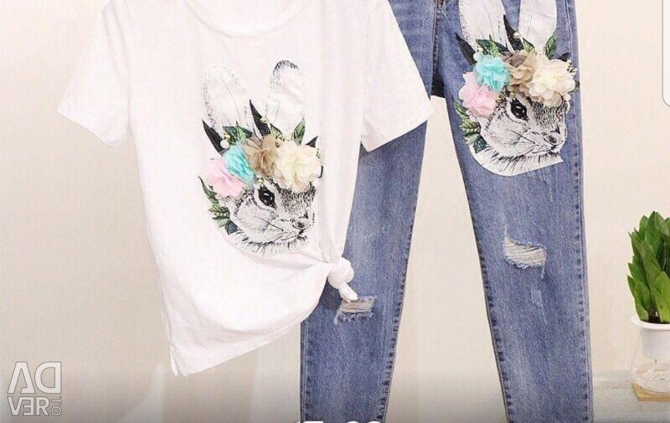 Jeans Plus Tişört