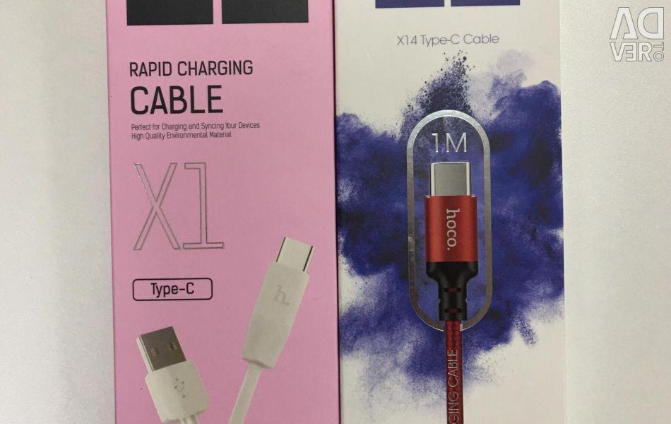 Cablu de încărcare Hoco tip C