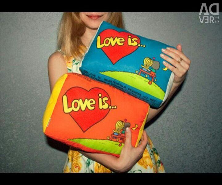 Η αγάπη είναι μαξιλάρι ...