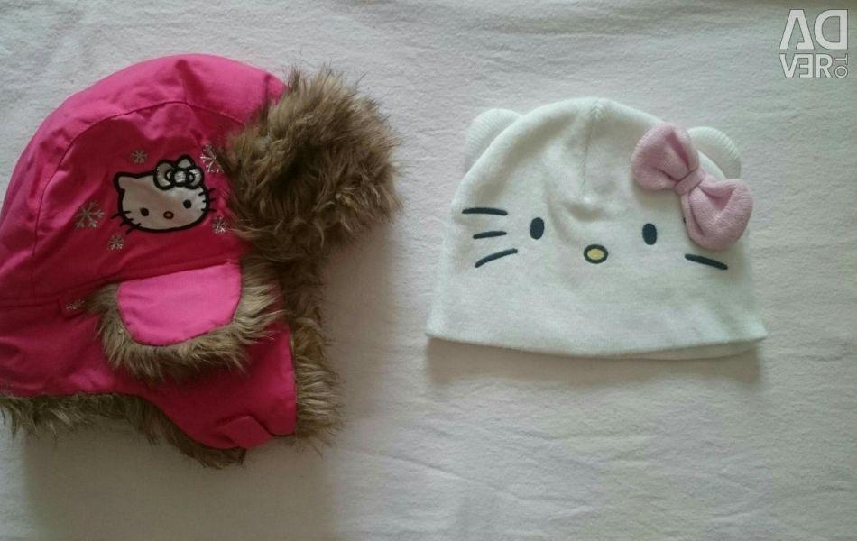 Pălării pentru fete H & M de Hello Kitty