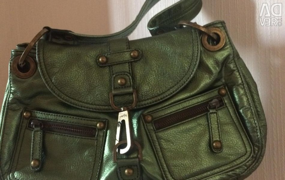 Bag green pearl new Italy new