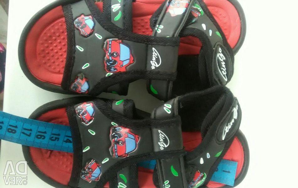 Sandals for kindergarten
