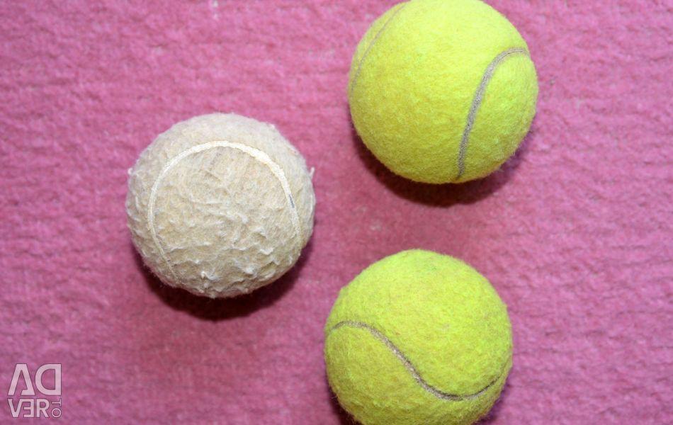 Kullanılan tenis topu