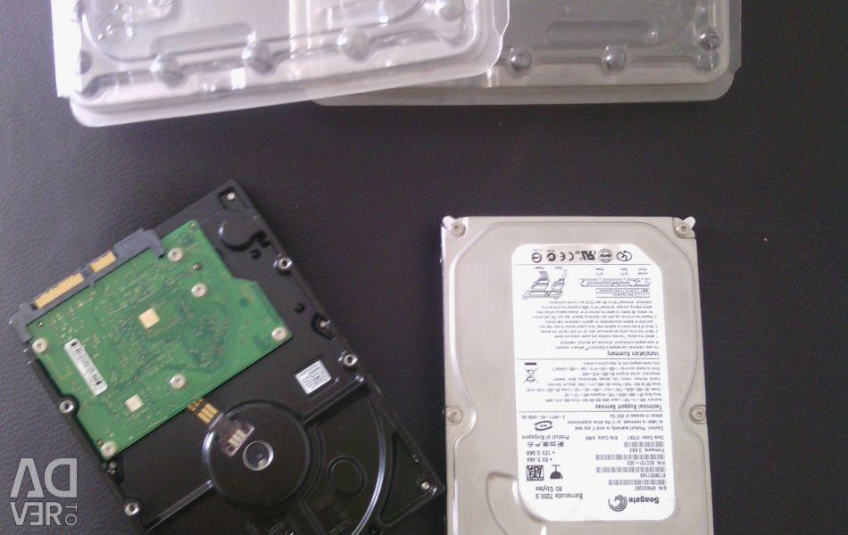 2 внутрішні жорсткі диски