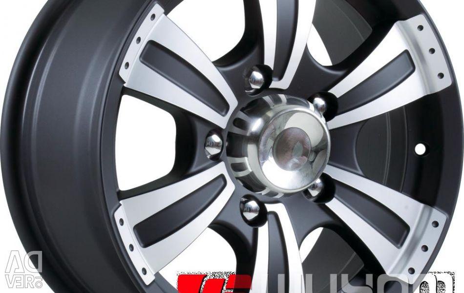 Wheel SKAD Ranger 7x16 PCD 6x139.7 ET 10 DIA 110.1 Gray