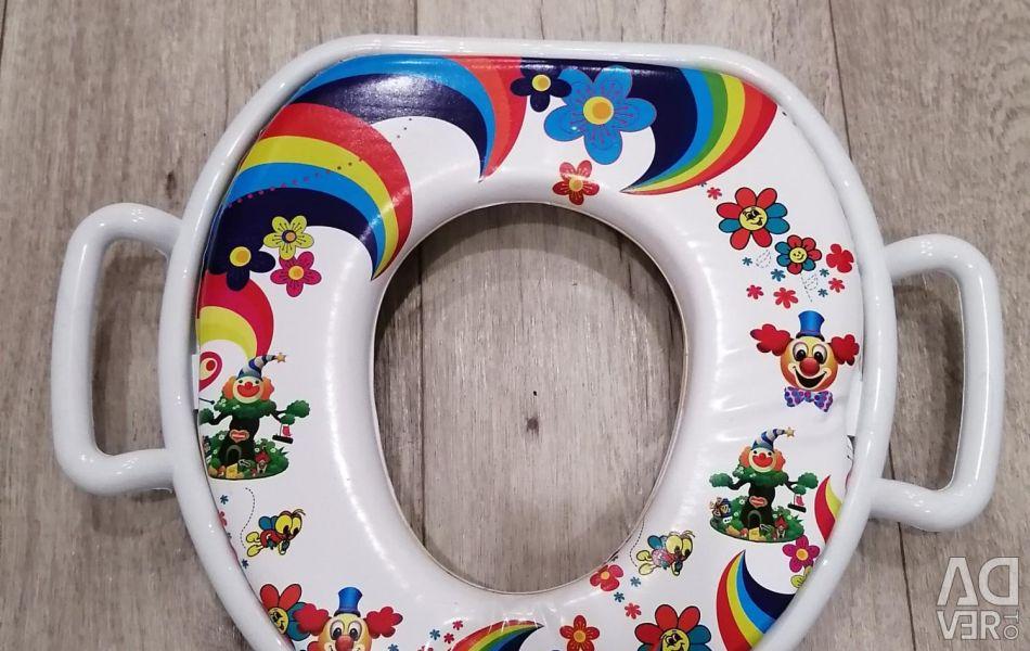 Overlay for toilet