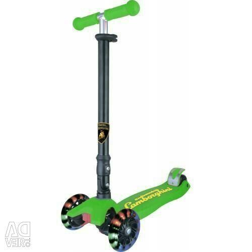 New scooter wheels light, folding