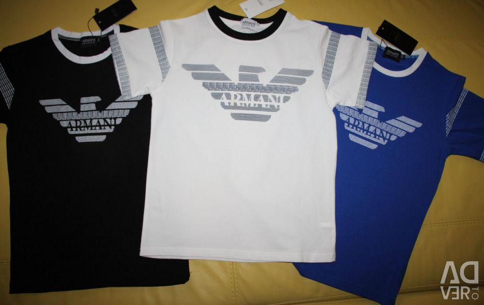 New t-shirts armani