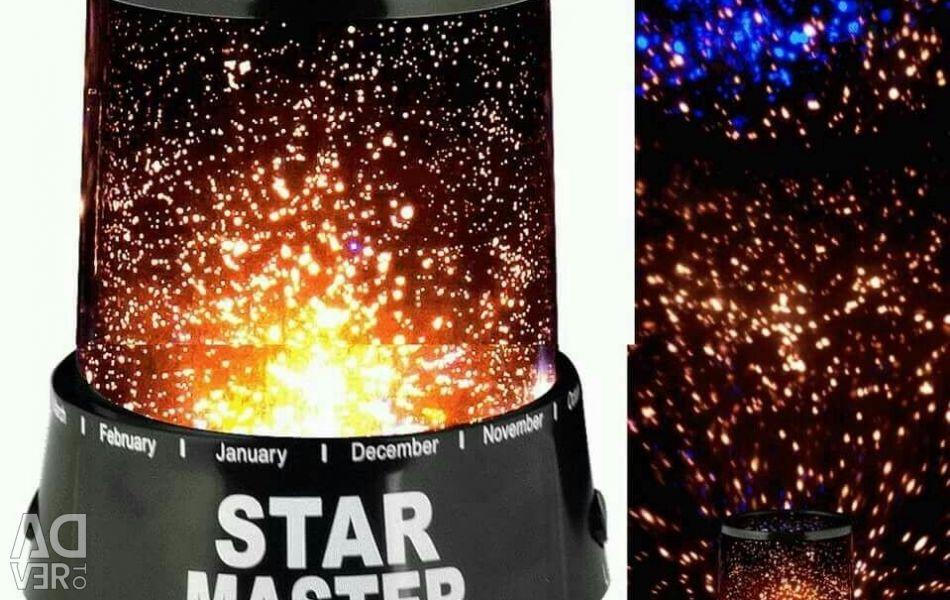 Projektör yıldızlı gökyüzü