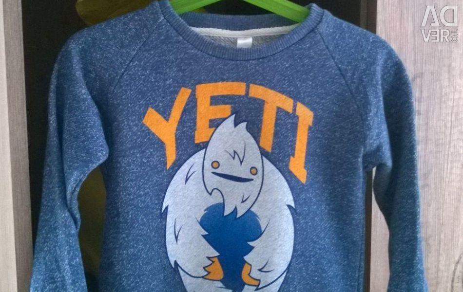 Sweatshirt for a boy