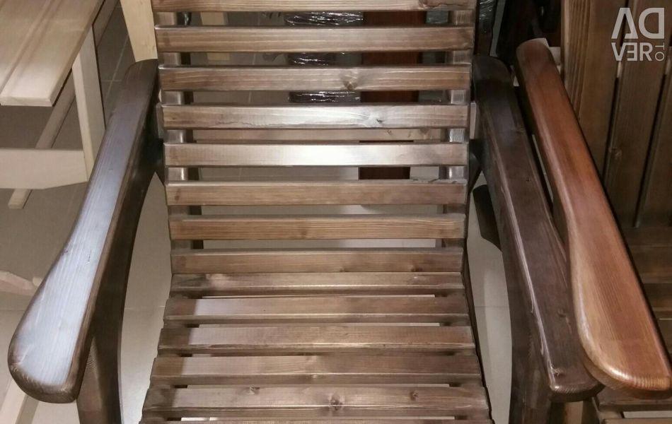 Κουνιστή καρέκλα (πεύκο)