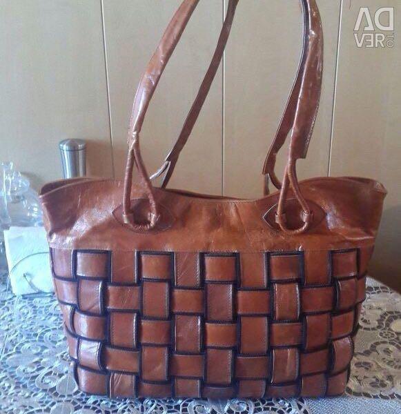 Piele, geantă nouă pentru femei