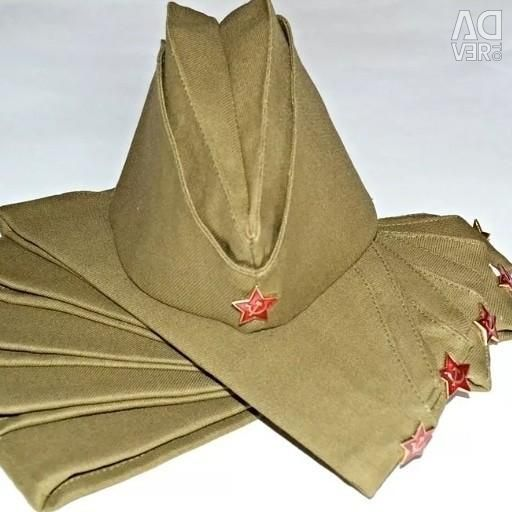 Bir yıldız ile askerin şapkası