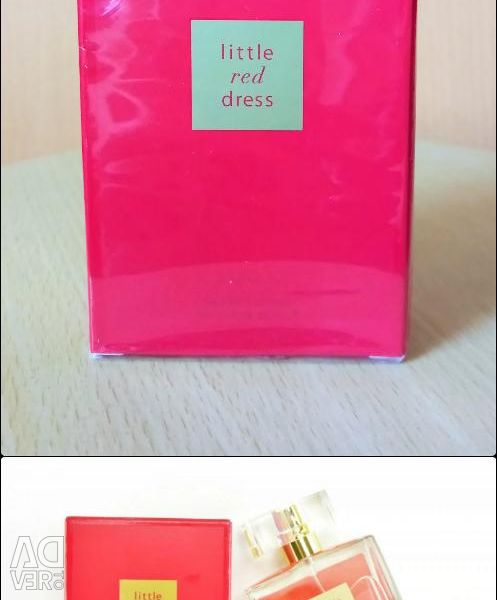 Water perfumery Little Red Dress for women new