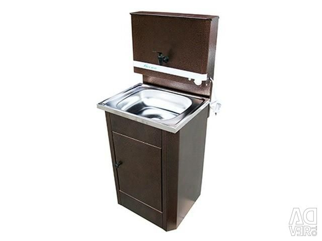 Wash-to 17l Country copper, stainless steel washing, heating