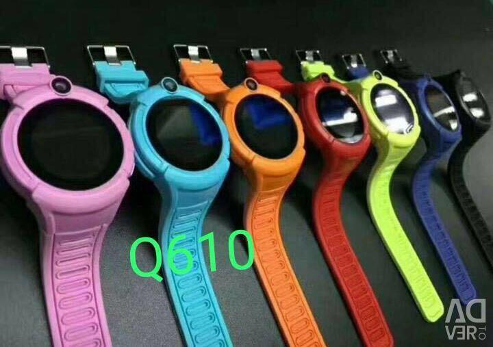 Умные детские  часы Q610 Smart Baby Watch с GPS