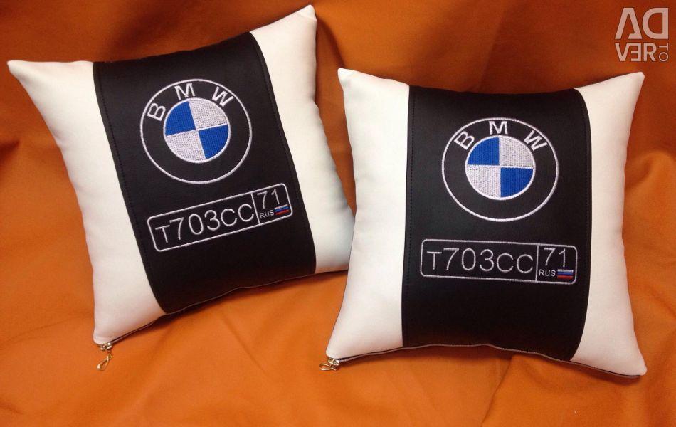 BMW Logo Pillow