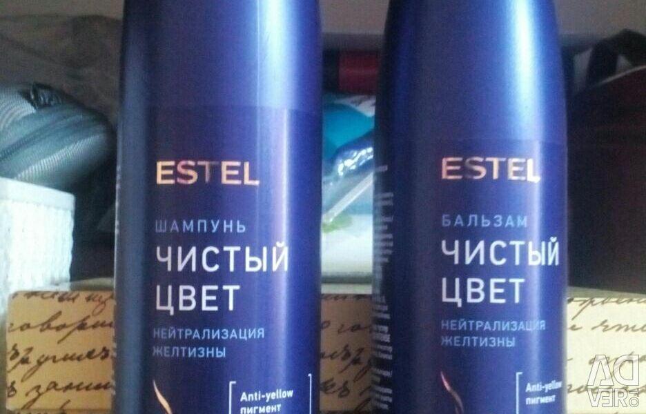 Șampon și balsam Estel