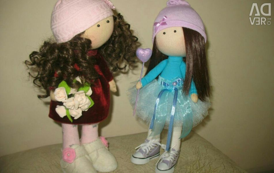Interior handmade dolls