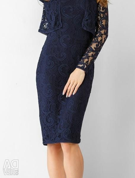 Lace dress with a jacket new