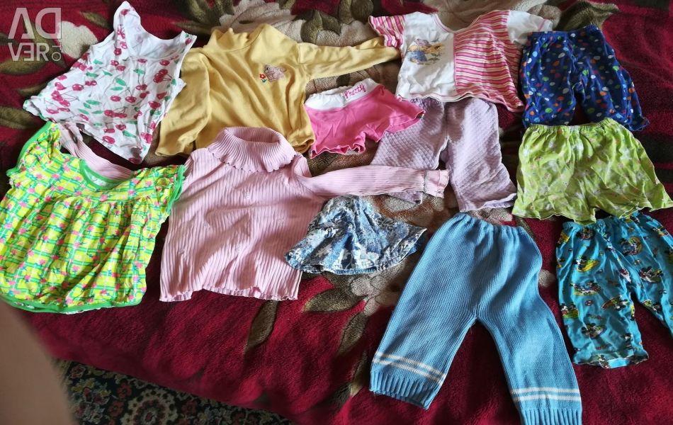 Για το δόσιμο και στο σπίτι ένα πακέτο για το κορίτσι 2-3 χρόνια