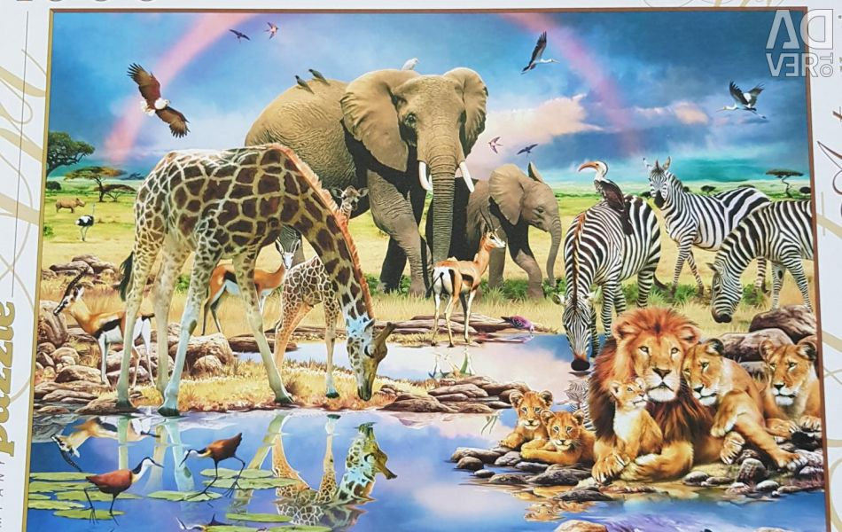 Puzzles for 1000 pieces.