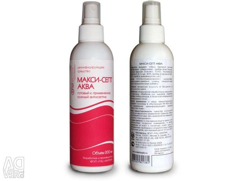 Dermal antiseptic Maxi-Sept Aqua. Manicure