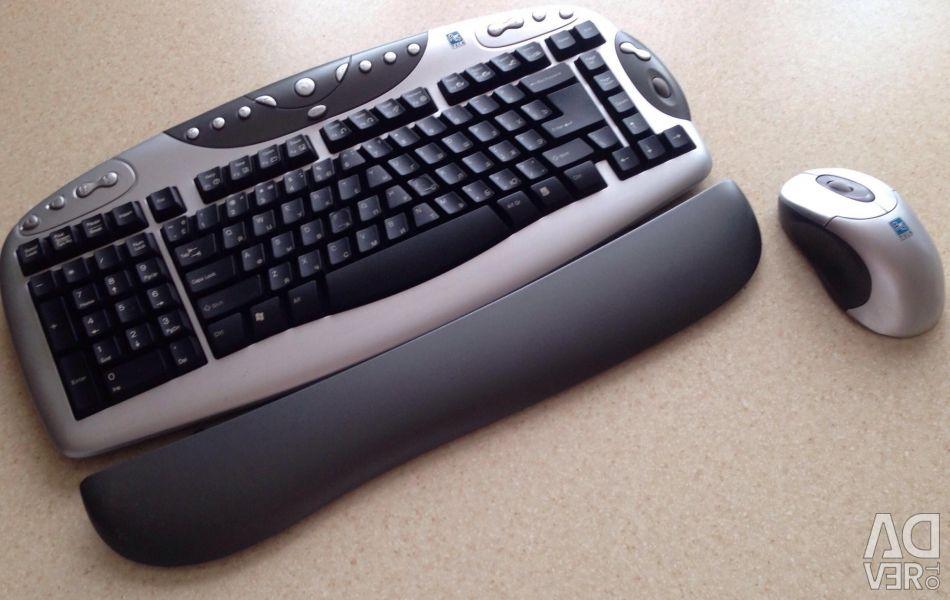 Tastatură și mouse-fără fir