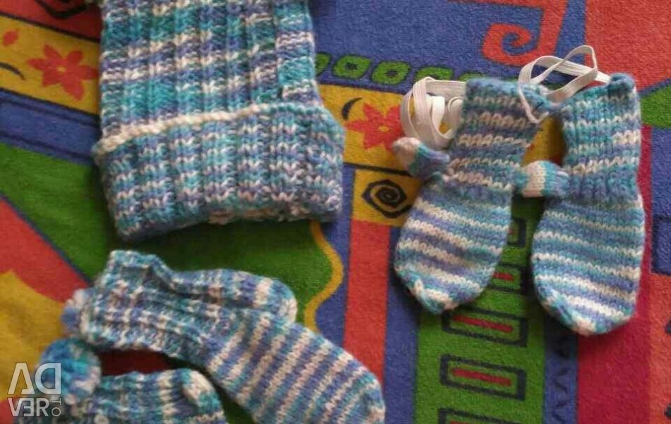 Knitted kit for children