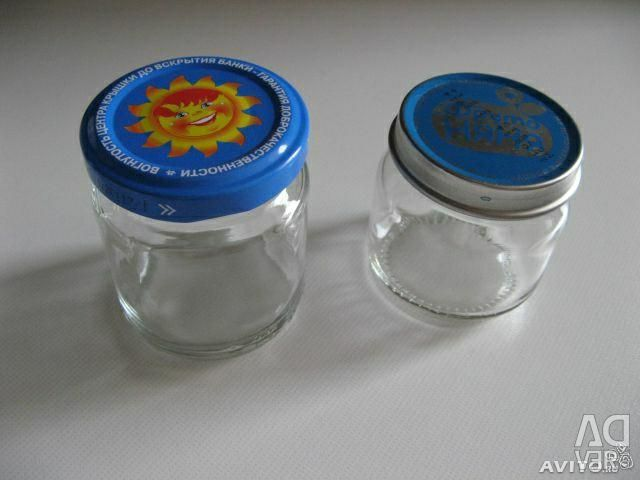 Jars 70 and 100 ml for FREE