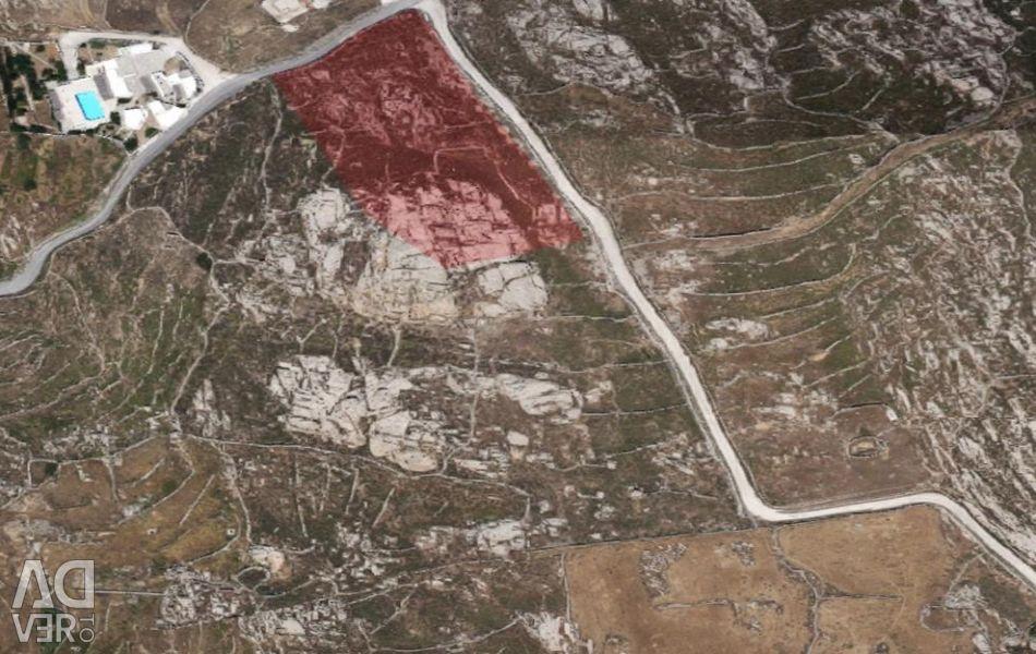 Α plot  of land (No.1) with a surface of  5.016,82