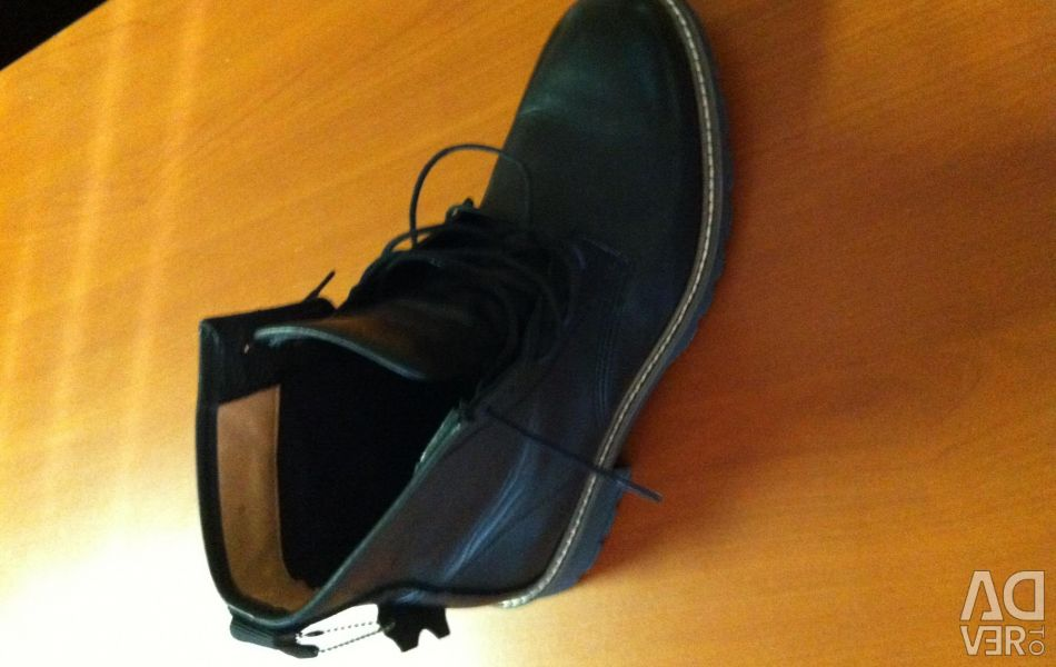 Women's Leather Shoes H & M
