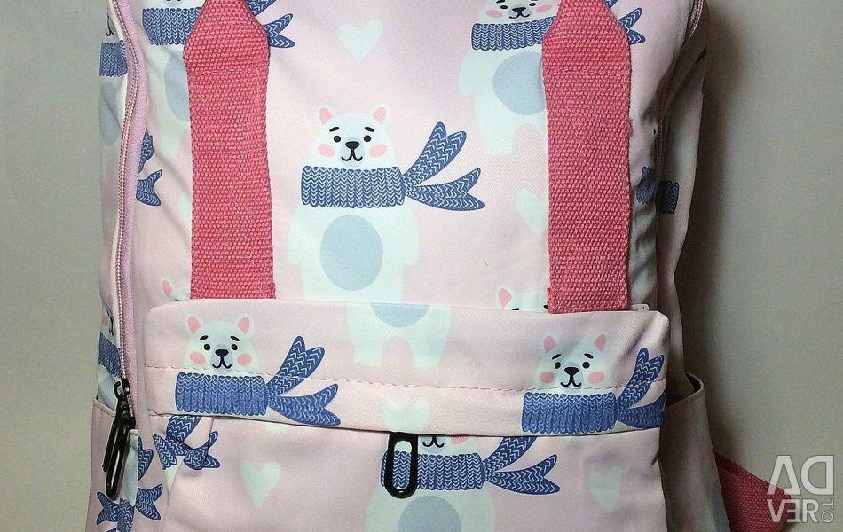 Новий рюкзак з ведмедиками