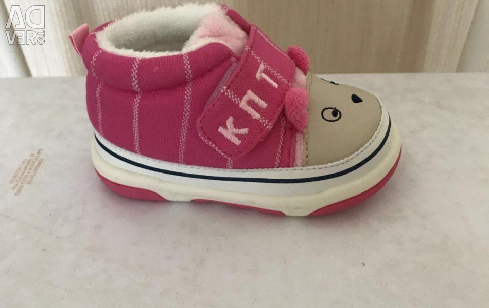 Yeni kız ayakkabı KAPITOSHKA