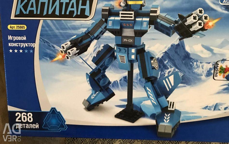 Игрушка робот лего