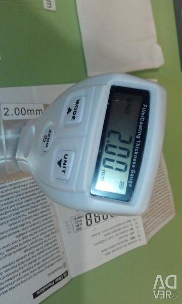 Thickness gauge rental
