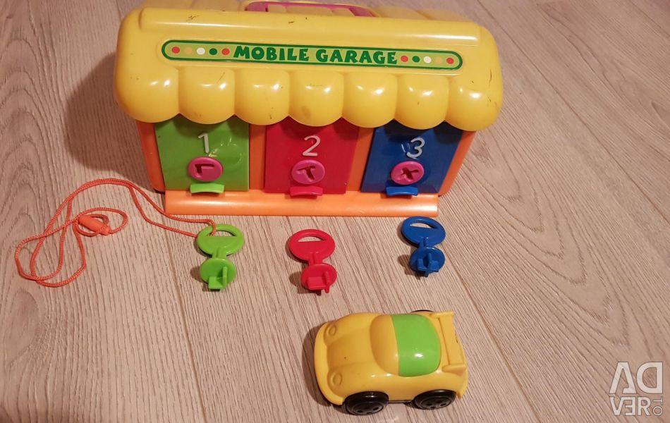 Garage for the development of motor skills