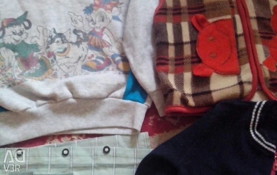Children's jacket with a hood