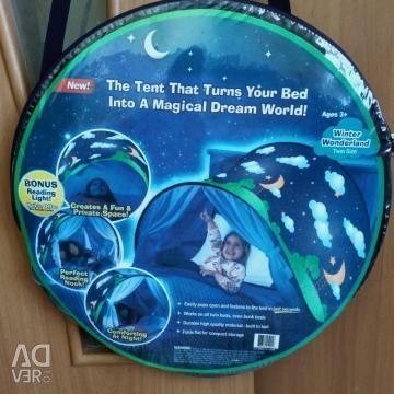 Cort de acoperire pe un pat pentru copii, Sky